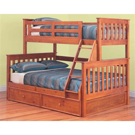 Trio Bunk Beds For Sale Awesome Trio Bunk Bed With Trundle In Teak Colour Buy Bunk Beds