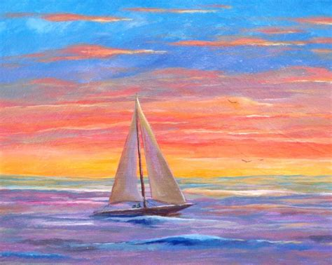 boat paint pictures how to paint a sailboat picture google search dream