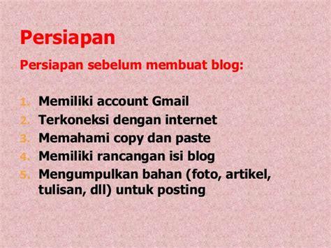 cara membuat blog keren untuk pemula cara membuat blog dengan blogspot untuk pemula