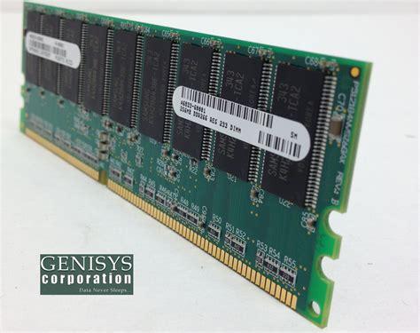 Ram Hp 1gb a9908a 1gb ddr sdram memory module genisys