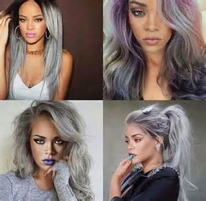 rihanna grey hair color rihanna grey hair xpiink hair
