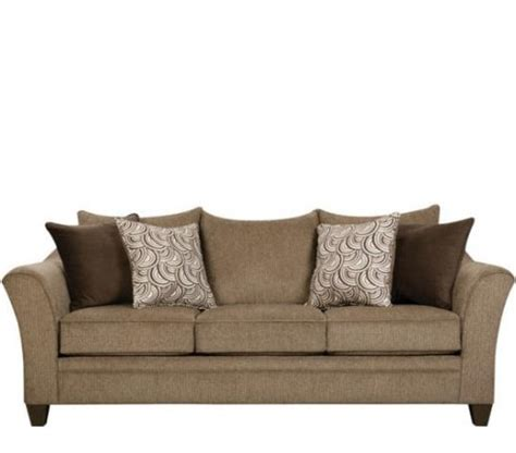 albany truffle sofa by simmons at furniture warehouse