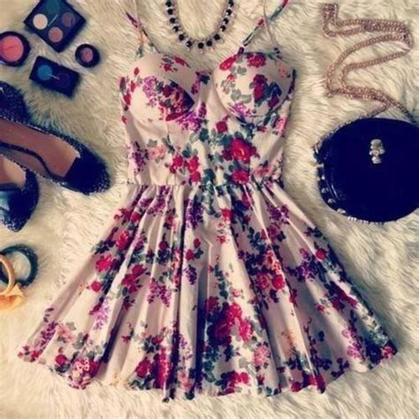 dress girly pretty bralette floral dress clothes