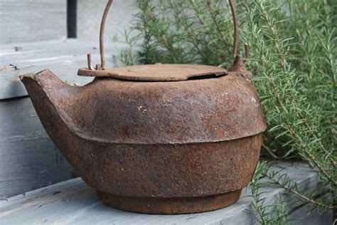 antique cast iron kettle for sale tea wood burning stove