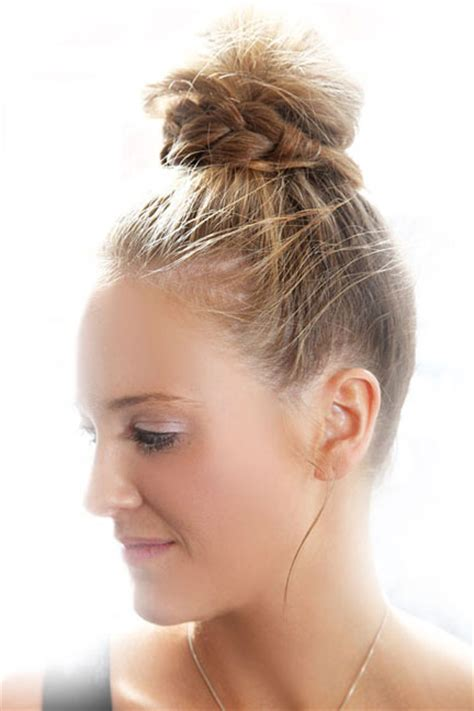 Top Knot Hairstyles by How To Topknot