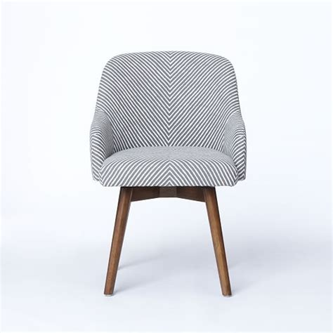 west elm swivel chair saddle office chairs west elm