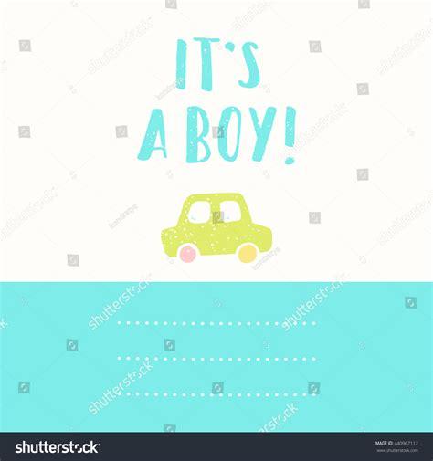 Lazy Boy Gift Card - boy cute gift card baby born stock vector 440967112 shutterstock
