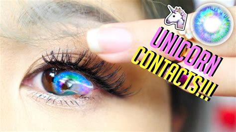best color in the world world s most beautiful unicorn contact lenses
