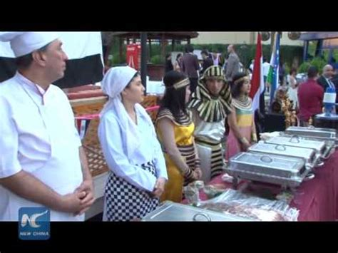 uzbek cuisine youtube raw chinese delicacies stand out at uzbek food festival