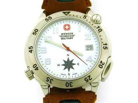 swing compass wenger swing out compass watch