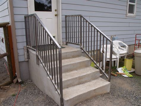 Concrete Handrails railings concrete steps images