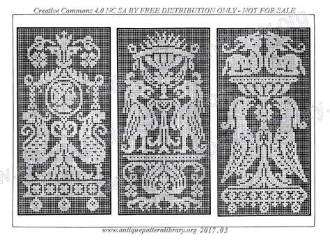 antique pattern library hardanger apl c tt005 le filet ancien au point de reprise i page 142