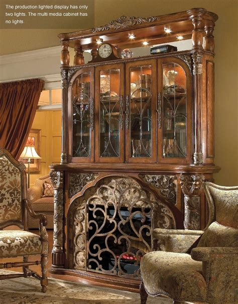 valencia carved wood traditional bedroom furniture set 209000 michael amini villa valencia traditional style luxury