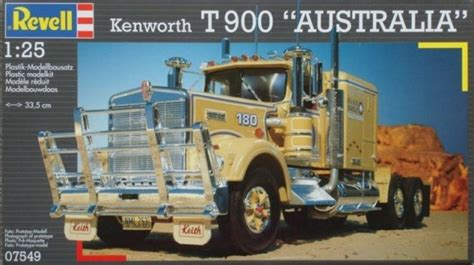 kenworth t900 australia revell kenworth australia t900 1 25 truck model kit at