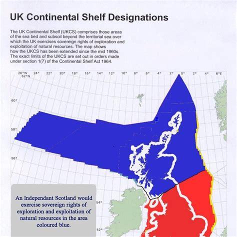 uk continental shelf designations scottish independence