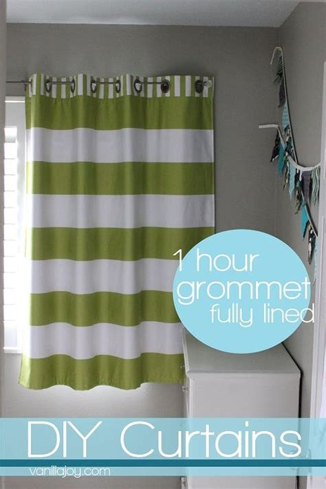 how to make lined curtains easy easy diy grommet top fully lined curtain tutorial
