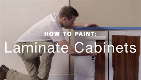 can you paint laminate cabinets kitchen how to paint laminate kitchen cabinets
