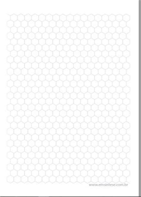 Folha para desenhar moléculas orgânicas | Em Síntese