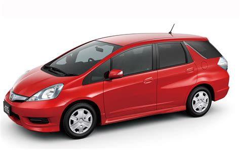 Honda Fit Shuttle stretched to fit honda fit shuttle fit shuttle hybrid debut in japan