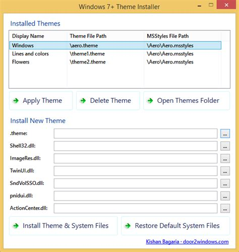 themes for windows 7 installer windows 7 theme installer by kishan bagaria on deviantart