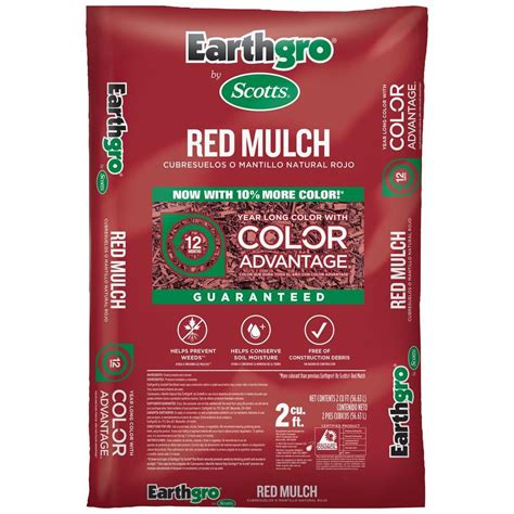 scotts earthgro 2 cu ft mulch 88452180 the home depot