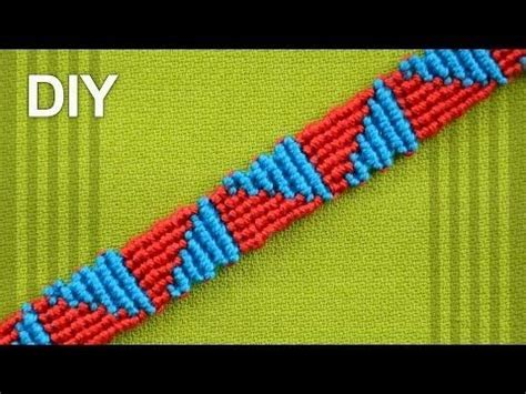 Cavandoli Macrame Tutorial - friendship bracelet watermelon slices diy tutorial