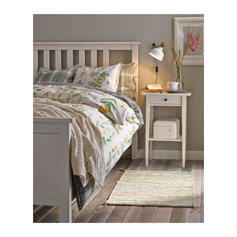 ikea double bed size hemnes bed frame white stain leirsund standard double ikea
