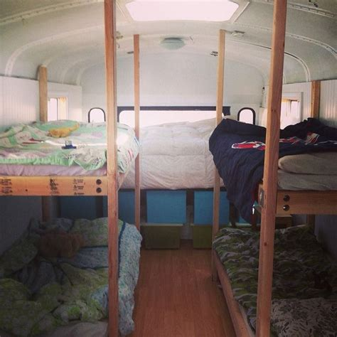 school bus bed big family small space school bus update shalom mama