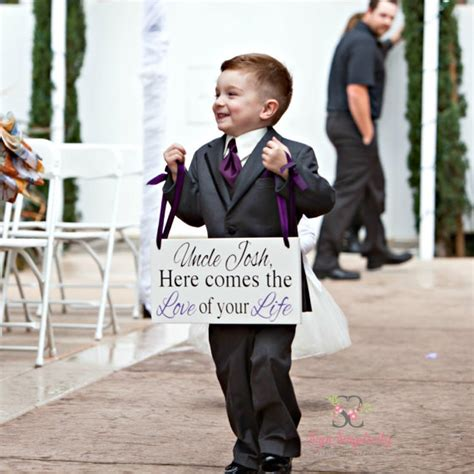 Here Comes The by 27 Incredibly Ring Bearer Signs You Ll Want For Your