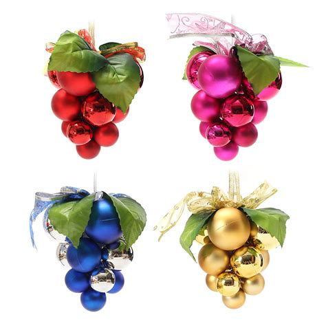 christmas ball grape strings tree decoration ornaments