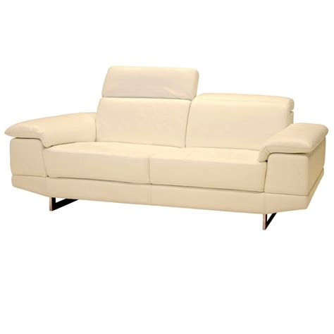 Italian Leather Sofa And Loveseat by Alfanzo Italian Leather Sofa And Loveseat Pebble Beige 2071
