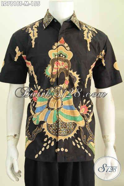Hem Batik Unik Baju Kantor Pria baju hem batik motif unik kemeja batik keren proses tulis
