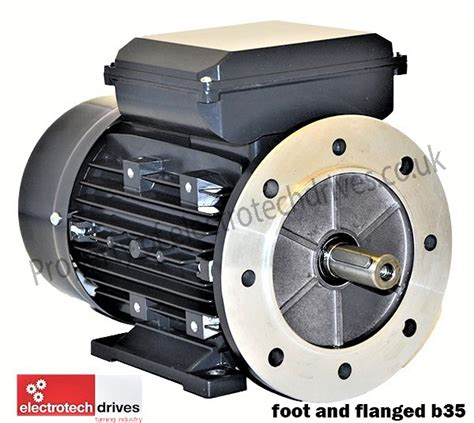 1kw Electric Motor by 1 1kw 240v Single Phase Electric Motor 1 5hp 4 Pole