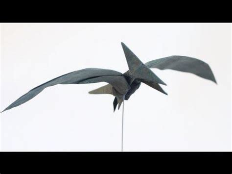 Origami Pterodactyl - rt origami kids how to make an origami pterodactyl