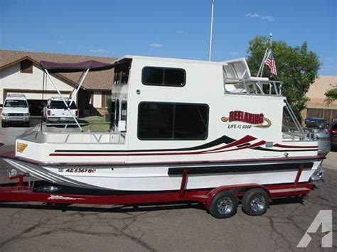 trailerable house boat 25 trailerable nomad houseboat 25 foot house boat in flagstaff az 4329009982