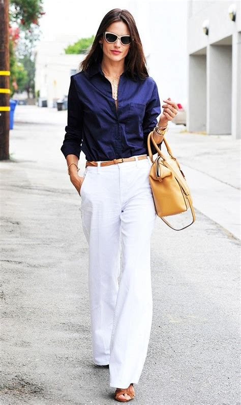 Celana Kulot Lebar Putih 17 model celana kulot untuk wanita modis fashionable 2018
