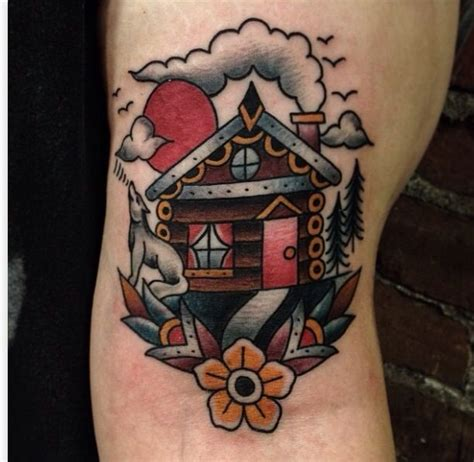 oldschool home tattoo