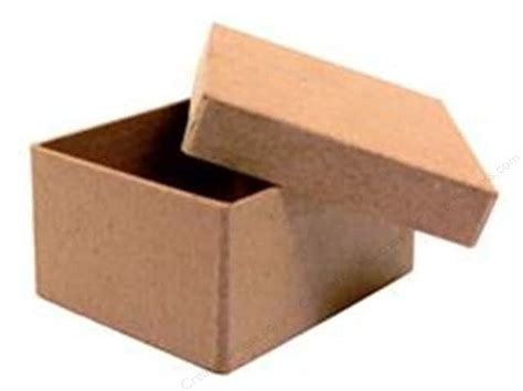 Craft Paper Mache Boxes - paper mache mini rectangle box by craft pedlars 36 pieces