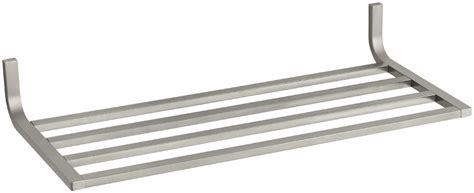 Kohler Towel Shelf by Kohler K 11577 Bn Brushed Nickel Modern Metal Towel Shelf