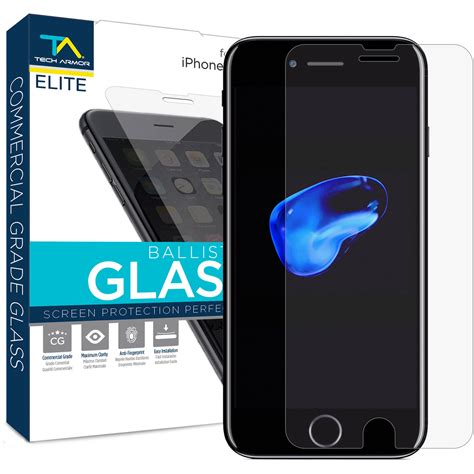tech armor elite ballistic glass screen elsp bg apl ip7 1 b h