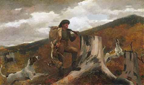 Dogs Of War Size M file winslow homer american a huntsman and dogs