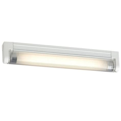 Filament Design Negron 1 Light White Fluorescent Under Cabinet Fluorescent Light
