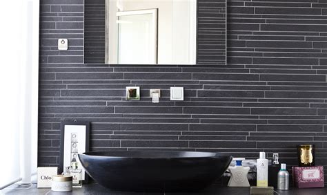 piastrelle nere piastrelle nere per il bagno casafacile