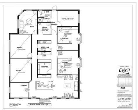 Dental Surgery Floor Plans | may street dental ego squared