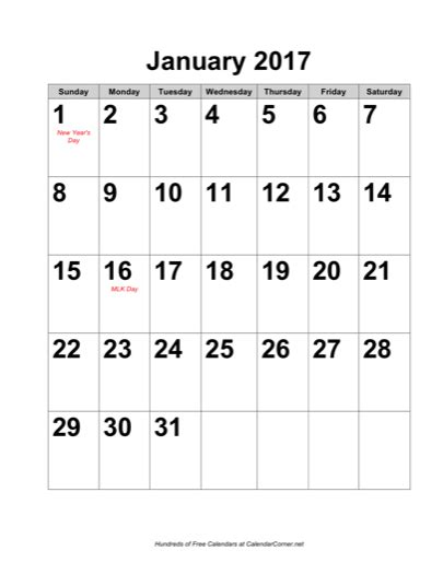 printable calendar large numbers search results for printable january 2015 calendar large
