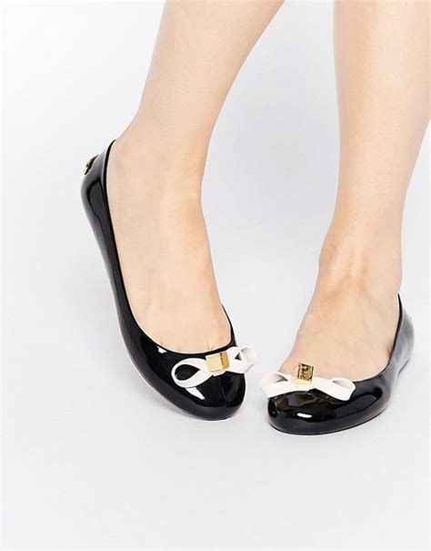 black flat jelly shoes ted baker ted baker jiro jelly black ballerina flat shoes