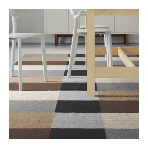 ikea stockholm rug stockholm rug flatwoven handmade chequered brown 250x350