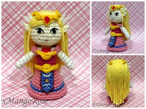 zelda amigurumi pattern toon princess zelda amigurumi doll by xmangorose on deviantart