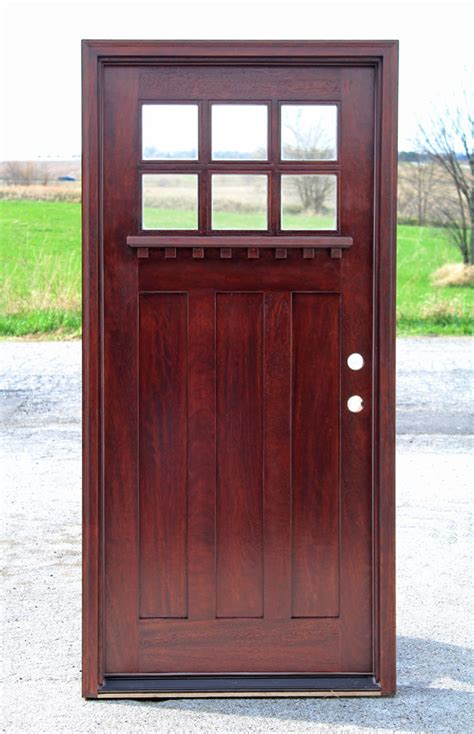 Exterior Wood Doors Cheap Exterior Door With Glass