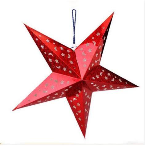 Etoile Decoration by 201 Toile No 235 L D 233 Coration 224 Suspendre Papier Pour Sapins De
